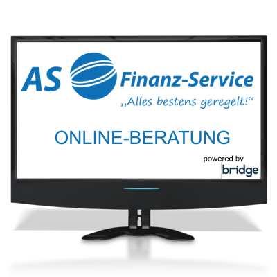 Online Beratung mit Ihrem Experten von AS-Finanzservice